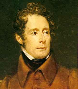 Lamartine, qui a inspiré le personnage de Canalis
